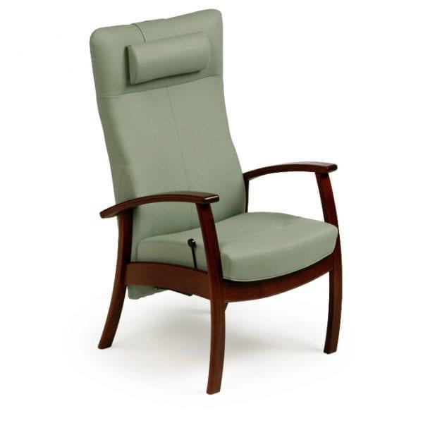 Seniorenstoel farstrup alpha zweeds design ergonomische fauteuil - Stoel met armleuningen senior ...